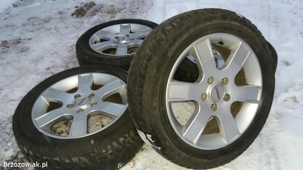 Alufelgi 16 Cali 5x112 Audi Vw Seat Opony Zimowe Przysietnica