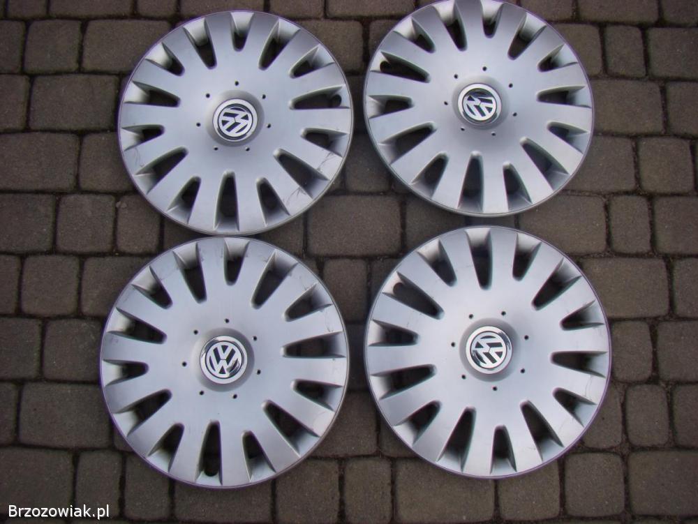 Komplet oryginalnych kołpaków Volkswagen 16 cali
